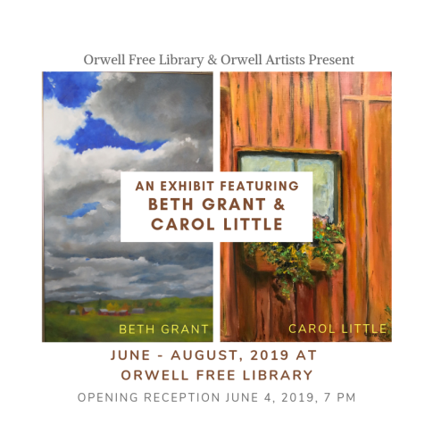 Local Artists Beth Grant & Carol Little